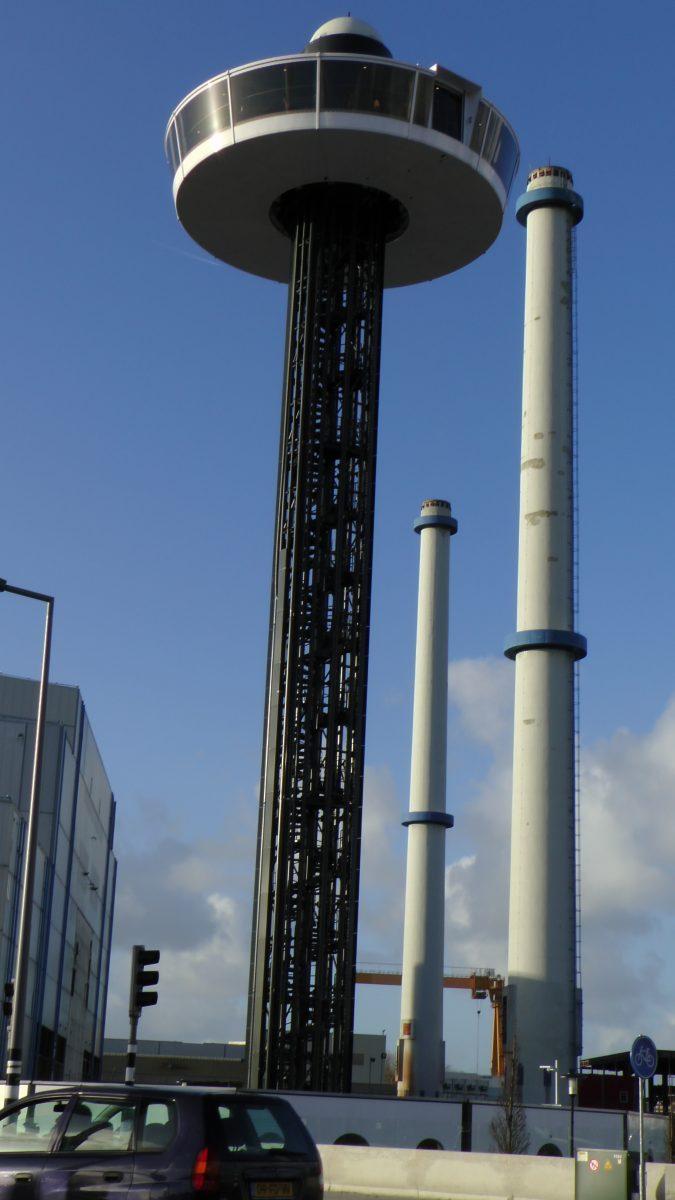 UFO restaurant Rotterdam Henny van der Most